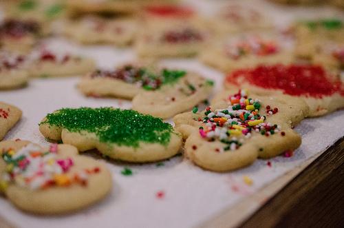 Weihnachtsbäckerei: Organisation