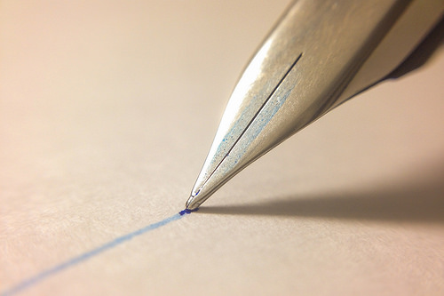 Schreibschrift, Druckschrift, eigene Schrift