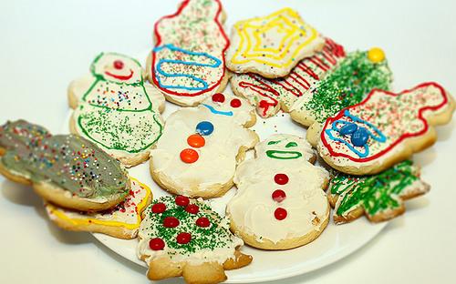 Eine Weihnachtsbäckerei organisieren