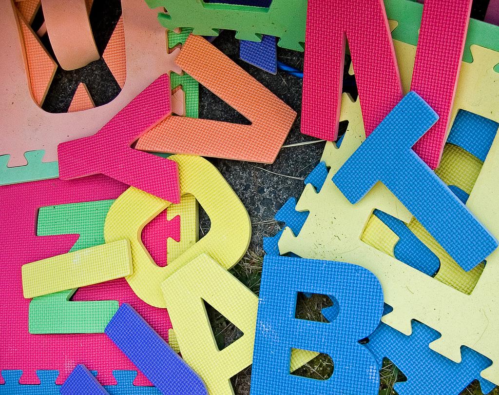 Vorlesebücher rund um Buchstaben