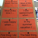 Kreative Einstiege nach den Ferien