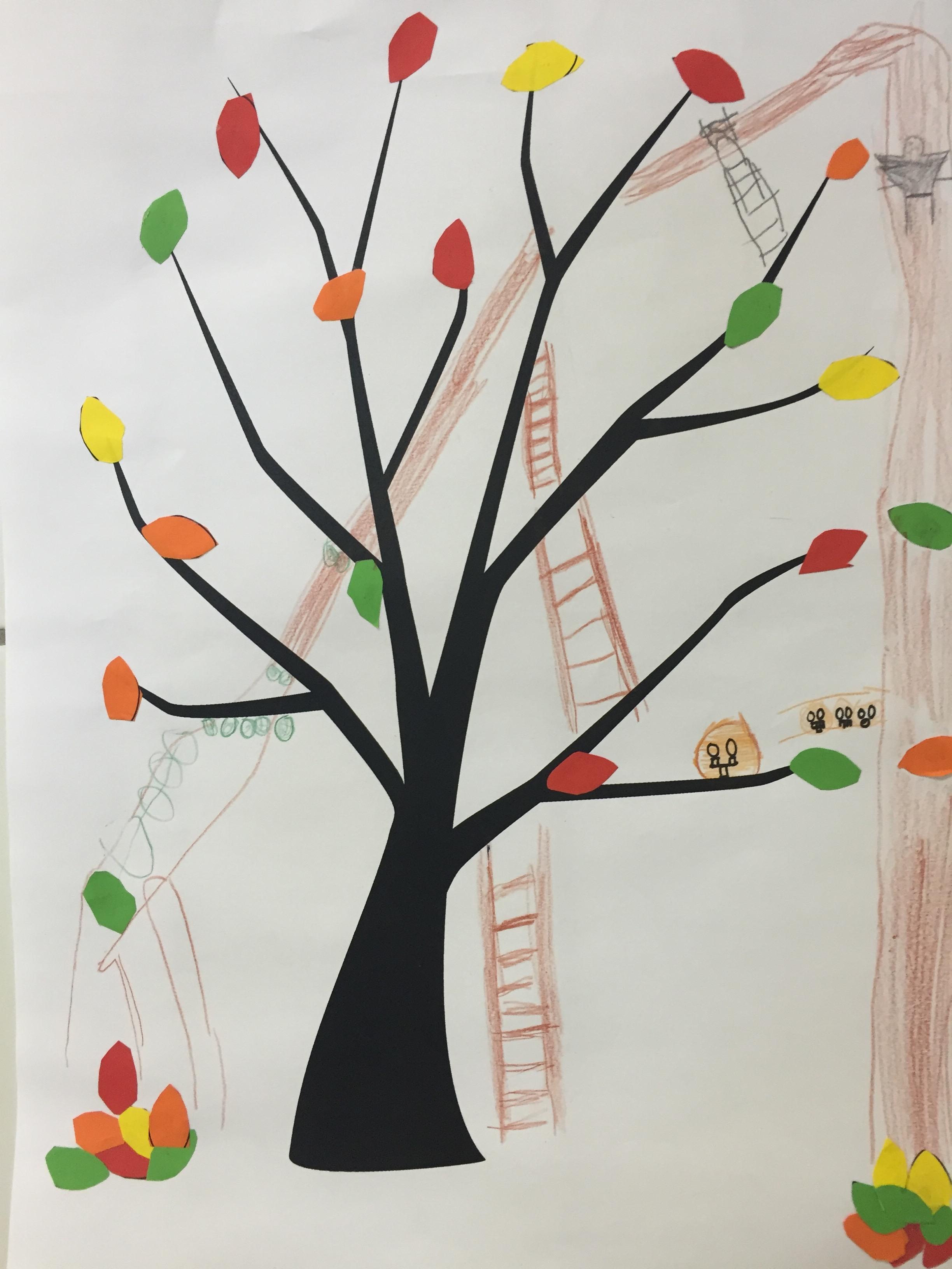 Herbstbaum1 Kunst