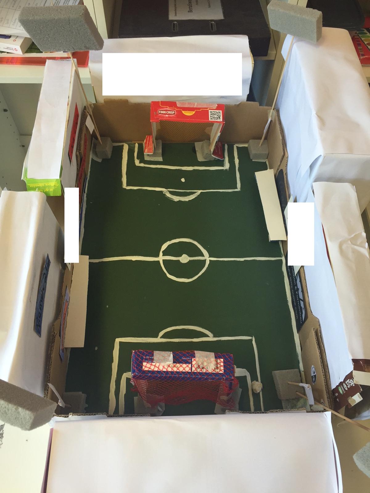 Modellbau: Fußballstadien