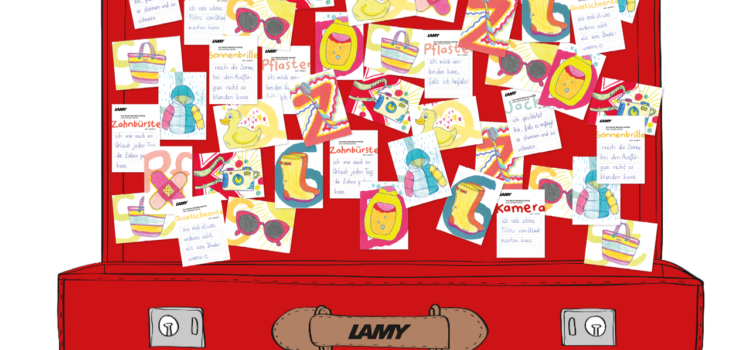 Mitmach-Aktion von Lamy zum Schreibenlernen