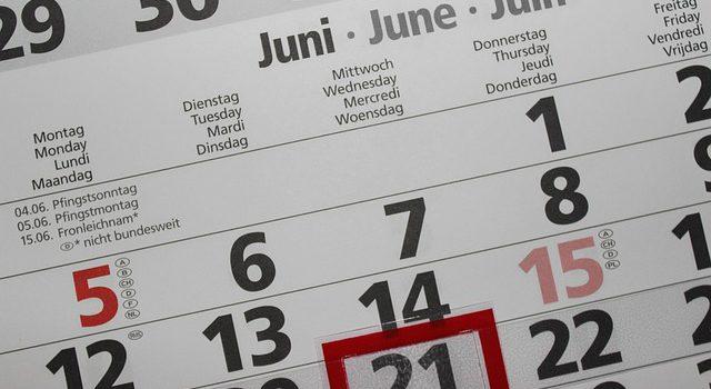 Einen Klassenkalender gestalten