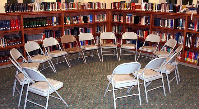 Leise in den Sitzkreis