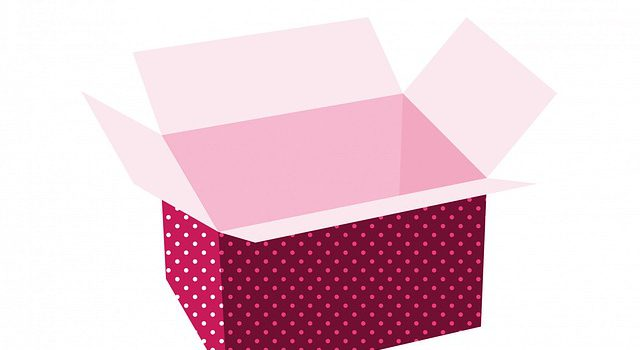 Eine Erinnerungsbox über das Schuljahr